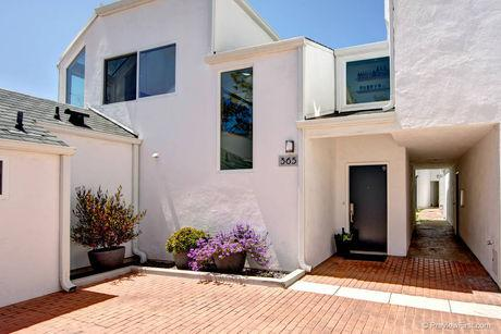 PETS WELCOME. Ocean views across from the track!! - Image 1 - Solana Beach - rentals