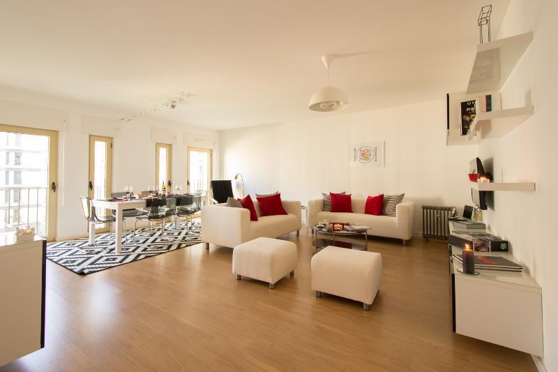Living room - Exciting Lisbon Entrecampos - Lisbon - rentals
