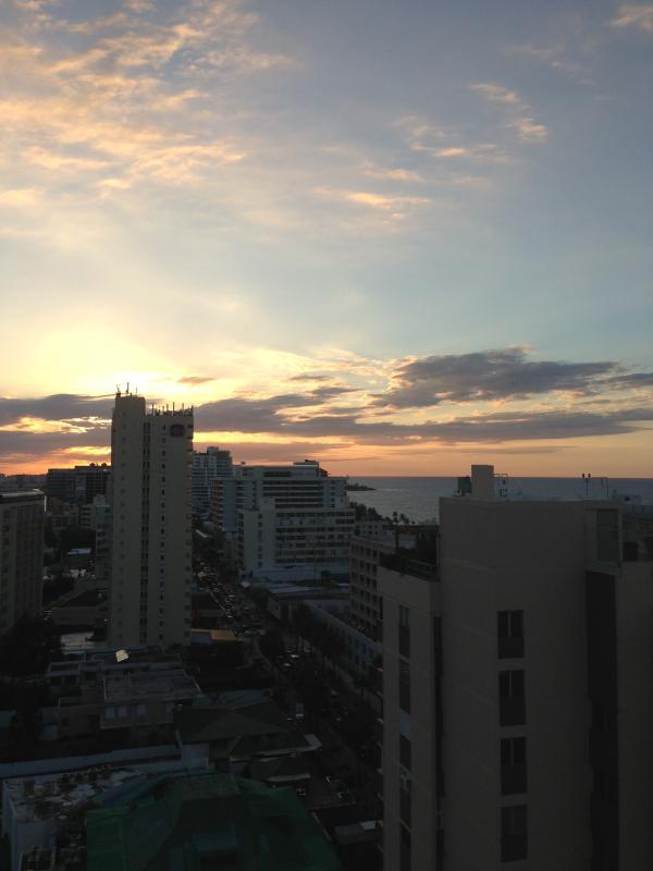 SUNSET - Ashford Ave,  Condado.  Ocean Apartment. - San Juan - rentals