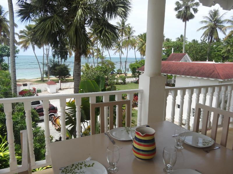Superb apartment for 6 people in front of the sea - Image 1 - Las Terrenas - rentals