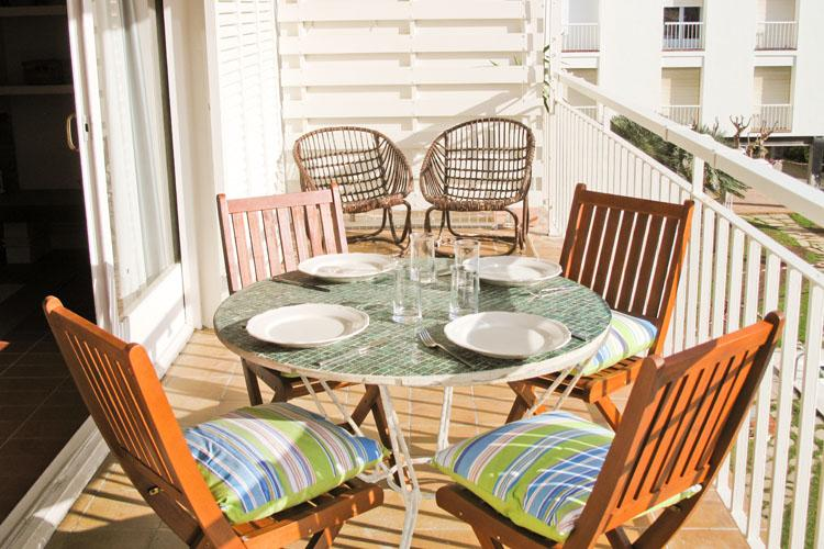 Terrace - BENAPRES Nice apartment close to the beach - Sitges - rentals