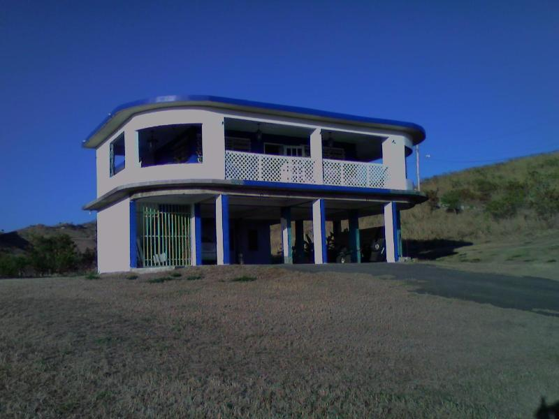 Front of House - Caribbean View House on 7 acres - Guayama - rentals