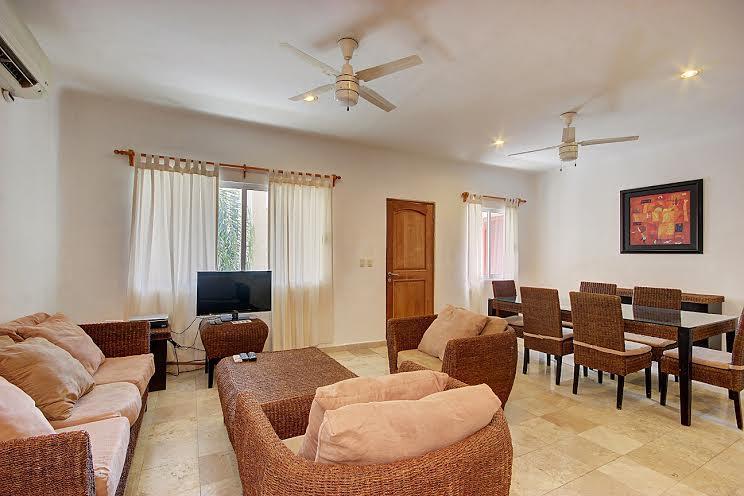 Sala - Magic 8B 2 Recamaras 5 Personas - Playa del Carmen - rentals