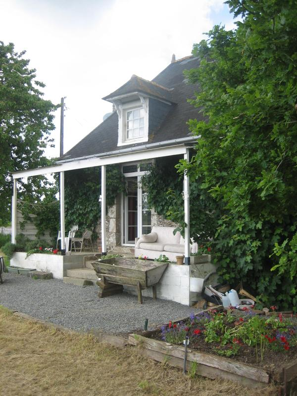 Main House overlooking the fields - Quaint 300yo Stone Cottage Normandy France - Romagny - rentals