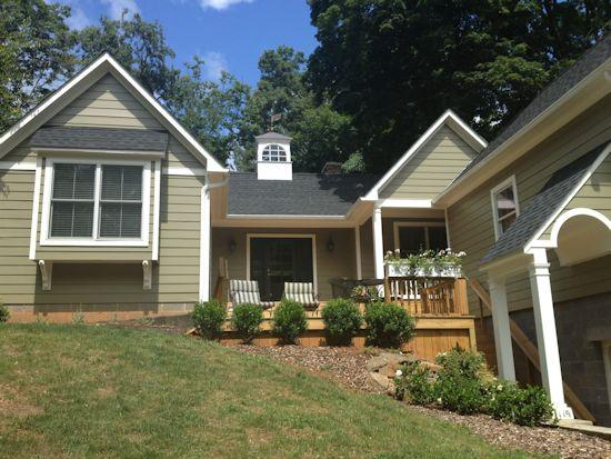Cottage to the right! - Jasmine Cottage in University residential neighborhood - Charlottesville - rentals