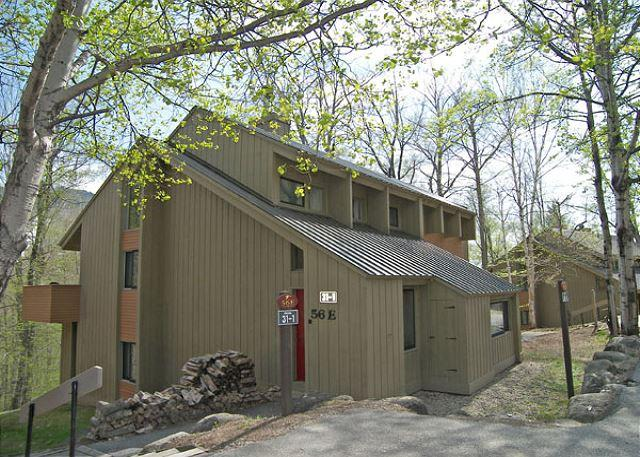 Exterior of Townhouse - Village of Loon 56E - Managed by Loon Reservation Service - Lincoln - rentals