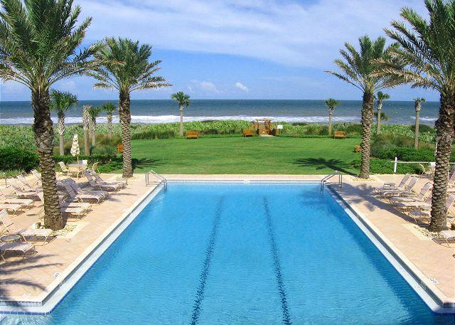 Spend the day at our ocean side pool - Cinnamon Beach 965, Penthouse, Corner, 6th Floor, Elevator, new HDTV, 2 pools - Palm Coast - rentals