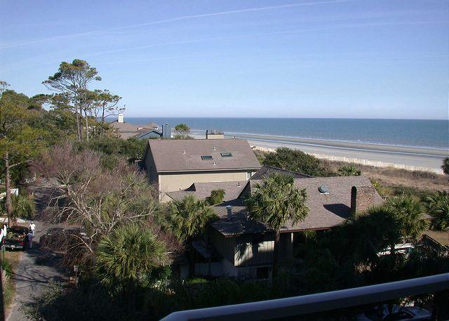 view - 2415 SeaCrest-WOW Views! Very pretty & Sunny.  Available 8/8-15 week - Hilton Head - rentals