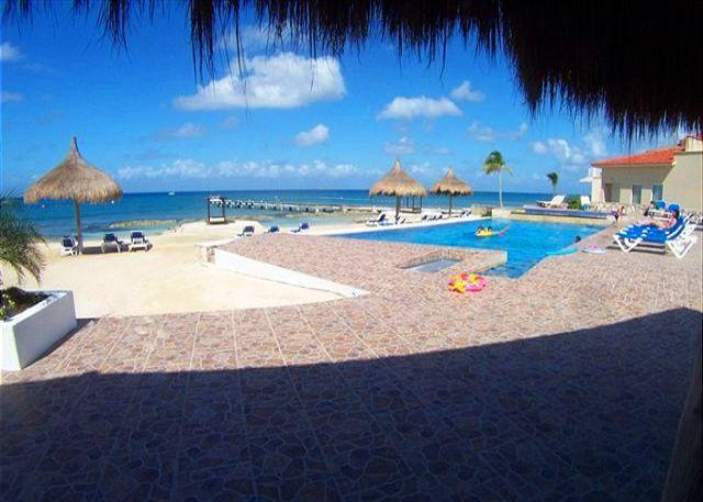 View from Your Balcony! - Beachfront Villa Magnificent Views, Pool, Fast Internet, Dive Boat Pickup - Cozumel - rentals