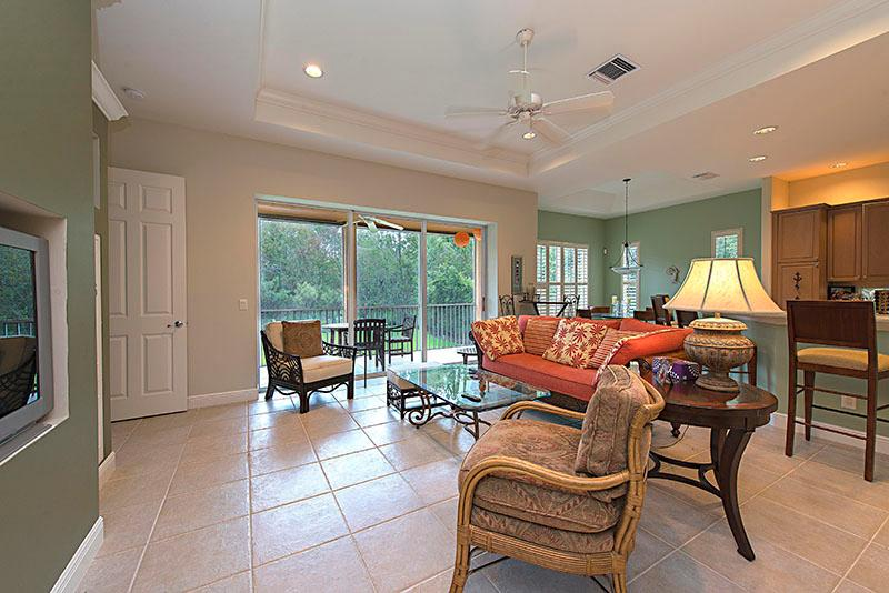 Living Room - Cottages at Brendan Cove - Bonita Springs - rentals