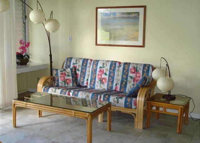 Living Room - Turtle Bay 022 West ** Available for 30 day rentals. Please call. - Kahuku - rentals