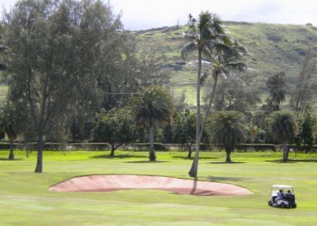 View from Living Room - Turtle Bay 124 West *  Available for 30 day rental, please call - Kahuku - rentals
