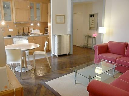 Great 3 BR flat Boulevard de Vaugirard up to 6 gue - Image 1 - Paris - rentals