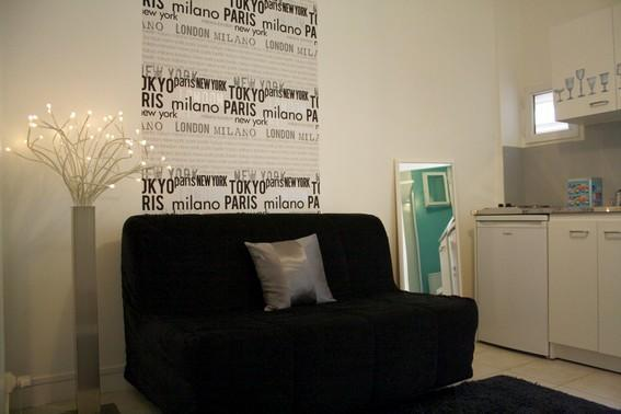 Cute studio close to Parc Monceau-internet and fee - Image 1 - Paris - rentals