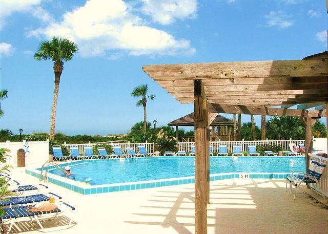 Ocean Village Club has 2 pools - Ocean Village Club Q12, Ground Floor unit, 2 pools, tennis & beach, WIFI - Saint Augustine - rentals