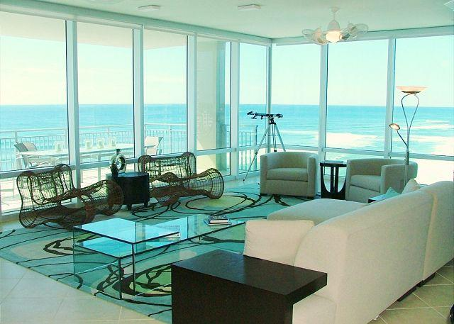 Floor to Ceiling Windows & Gulf View - BEACHFRONT LUXURY FOR 8! OPEN 9/5-12! GREAT WEATHER! LOW RATES! - Destin - rentals