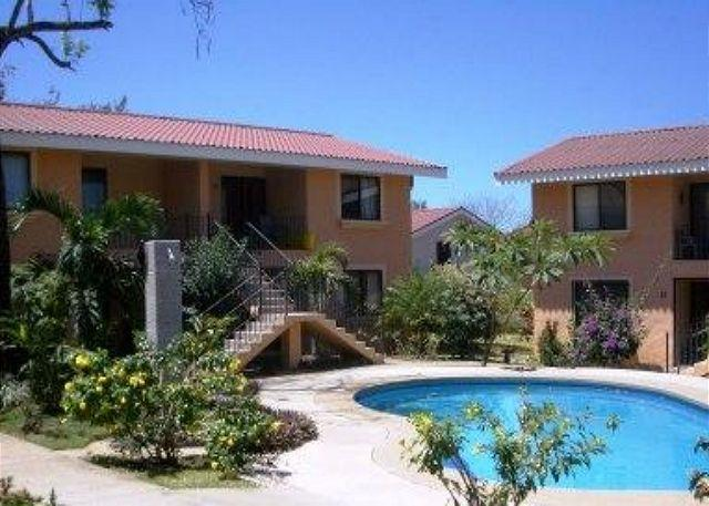 The condo is on the second floor and has two balconies. - Valle Azul -Walk to the Beach, Condo Sleeps up to 6 - Playas del Coco - rentals
