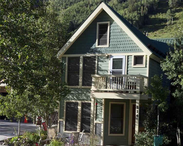 The exterior of this lovely home - PACIFIC STREET TOWNHOUSE 2 - Telluride - rentals
