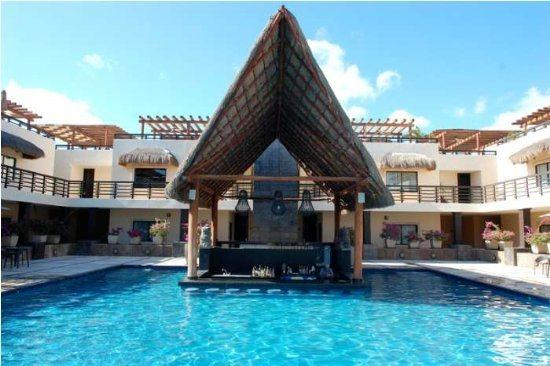 Aldea Thai Penthouse Kool - Common areas swimming pool - Vacation rentals Playa del Carmen - Aldea Thai PH Kool - Playa del Carmen - rentals