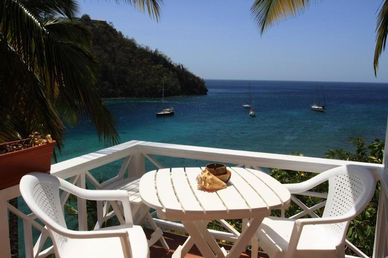 Ginger Cottage views - Ginger Cottage - Marigot Bay - rentals