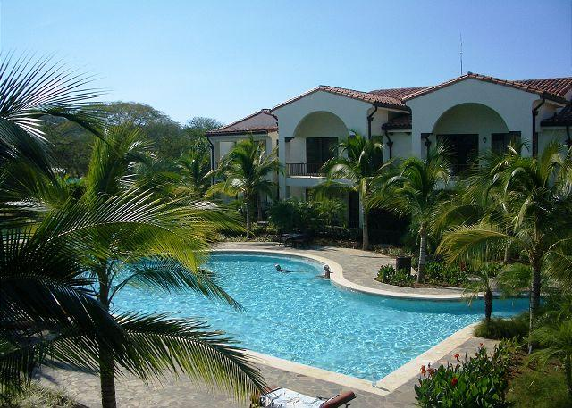 Enjoy the beautiful view from the balcony. - Pacifico L408  Condo  with 3 Bedrooms/2 Baths - Playas del Coco - rentals