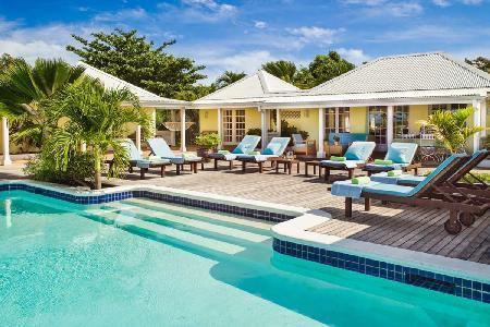 La Croisette - Hillside villa & guest house offer pool & gorgeous views - Image 1 - Terres Basses - rentals
