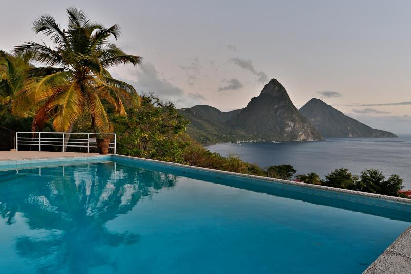 4 Bedroom/4 Bathroom Charming Hideaway in St Lucia - Image 1 - Soufriere - rentals