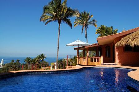 From Terrace - Casa Vista del Mar - Ocean View! - San Pancho - San Pancho - rentals