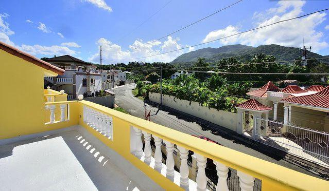 Balcony View of Street - Beautiful Villa 4 bedroom free WIFI - Puerto Plata - rentals