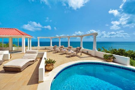 Terrasse De Mer - EXCLUSIVE Holiday Season Availability - Deluxe hillside villa with beautiful pool + jetted tub - Image 1 - Terres Basses - rentals