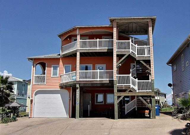 The Ultimate Beach House with Gulf Views! 6 bedrooms 6 baths 3000 sq. ft. - Image 1 - Port Aransas - rentals