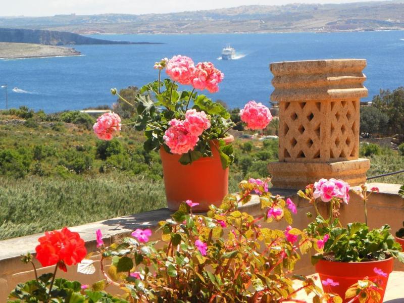Mediterranea Gozo seaview terrace - Mediterranea Seaviews - TripAdvisor 2014 Winner - Ghajnsielem - rentals