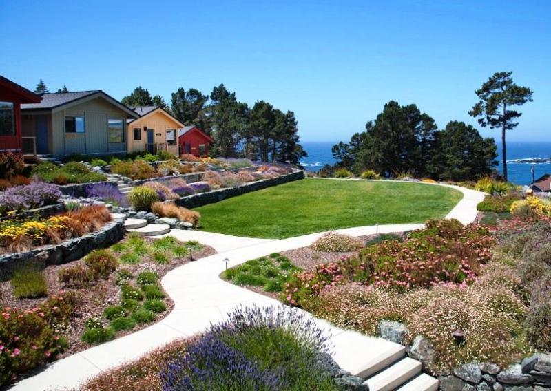 Property Grounds Photo - Luxury Ocean View Cottages Mendocino, CA - Mendocino - rentals