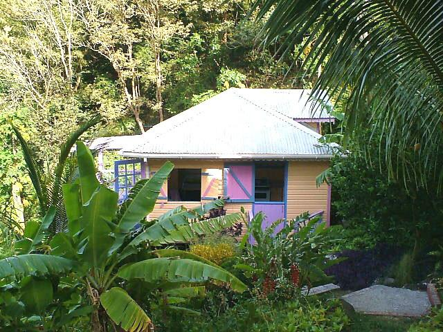 Private tropical garden setting - Caribbean Style Cottage with Magnificent Views - Carriacou - rentals