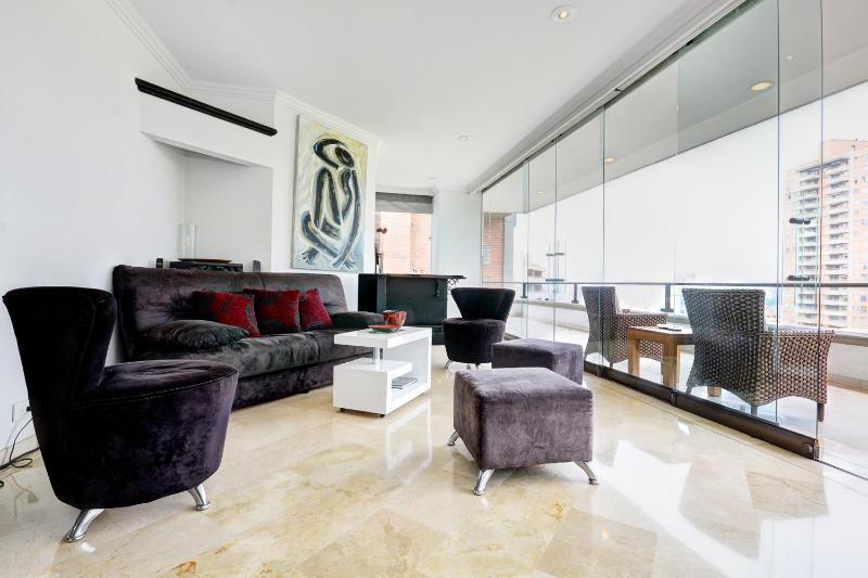 Modern 3 Bedroom Apartment with Views in El Poblado - Image 1 - Medellin - rentals