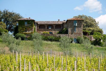Villa Geggianello with gourmet kitchen, courtyard, pergola and daily cleaning - Image 1 - Siena - rentals