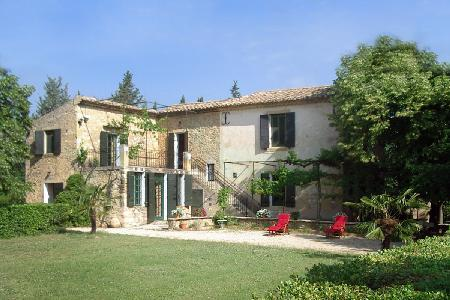 Beautiful Farmhouse La Belle Etoile in Completely Private Grounds with Pool & Terraces - Image 1 - Luberon - rentals