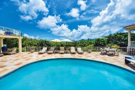 "Maison de Reve - ""Dream House"" features beautiful views, pool & beach activities nearby - Image 1 - Terres Basses - rentals"