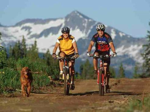 A lot of trails and bike passes around... - condo - Yampa - rentals