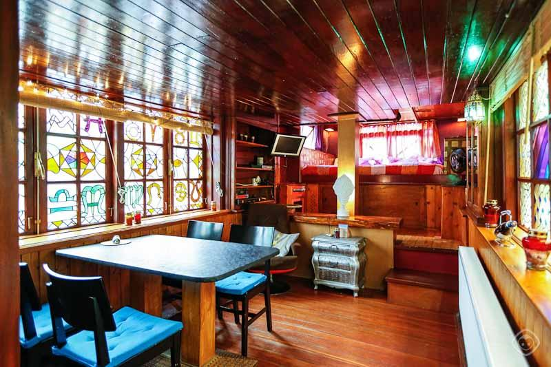 Living Room Overview The House Boat Apartment Amsterdam - The Houseboat Amsterdam - Amsterdam - rentals