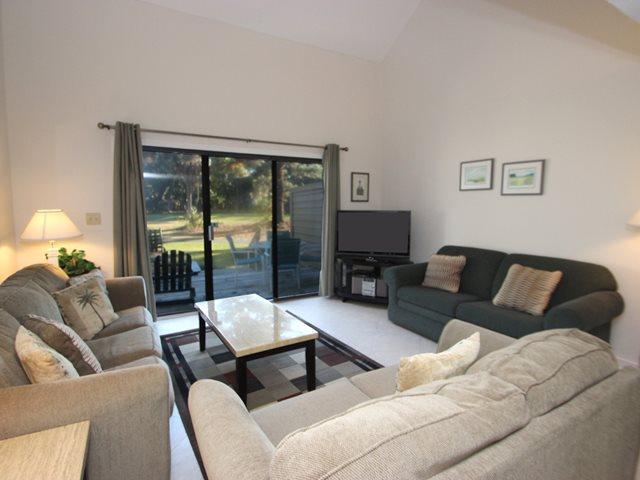 Living area - Greens, 180 - Hilton Head - rentals