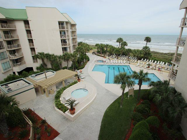 Pool and ocean view - Villamare, 3424 - Hilton Head - rentals