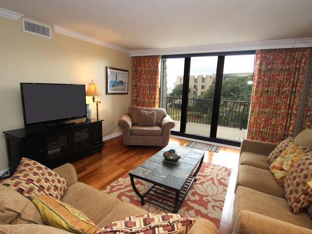 Living area 2 - Island Club, 3404 - Hilton Head - rentals