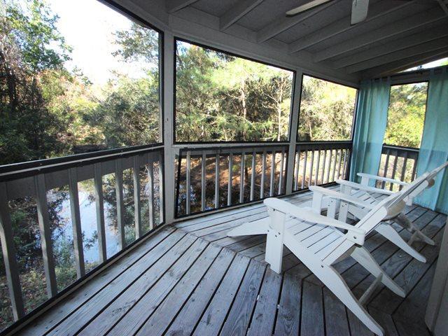 Back porch - Night Heron, 17 - Hilton Head - rentals