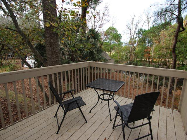 Back deck - Night Heron, 52 - Hilton Head - rentals