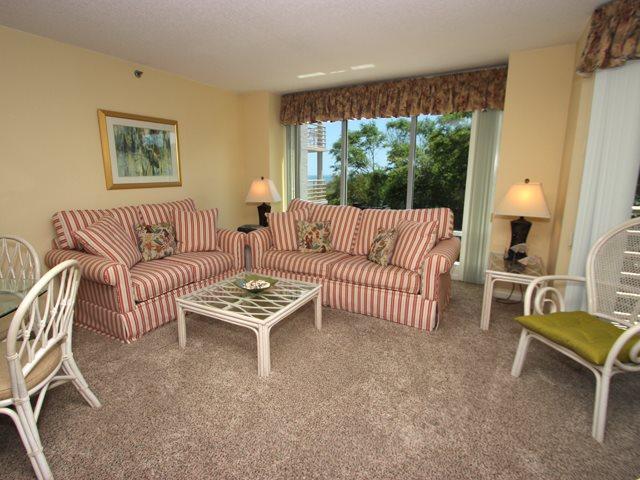 Living area - Villamare, 3330 - Hilton Head - rentals