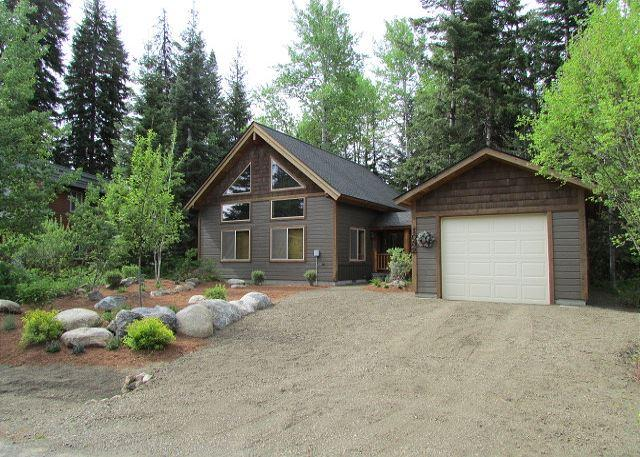 Front of Home - Charming Cabin Nestled in the trees of Spring Mountain Ranch - McCall - rentals