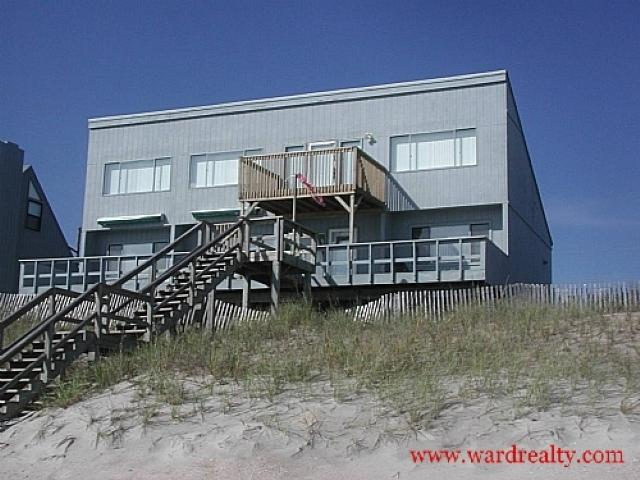 Oceanfront Exterior - Breakers - Surf City - rentals