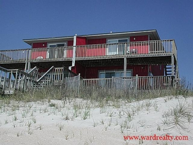 Oceanfront Exterior - Fins To The Right - Surf City - rentals