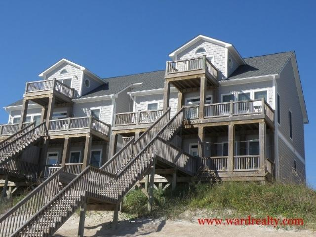 Oceanfront Exterior - Inn Luxury North - Surf City - rentals